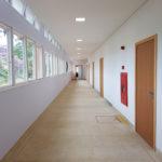 Escola Waldorf Rudolf Steiner Prédio Ensino Médio - Corredor Apos Reforma